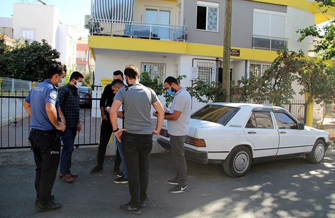 Antalya'da hırsızlar kayıt sistemini bile çaldılar