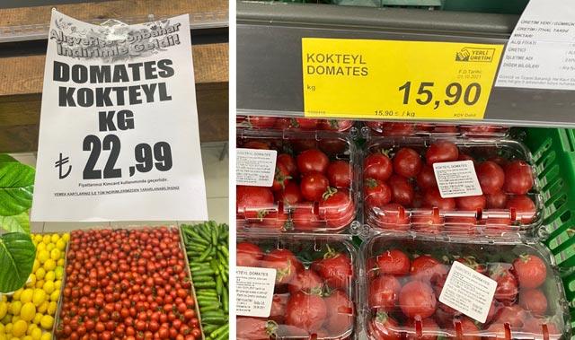 Ürettiği domatesin izini dedektif gibi izini sürdü! Fiyatı görünce şok oldu