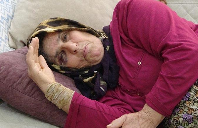 70 yaşındaki Sabure Özçelik komşusu tarafından öldüresiye dövüldü