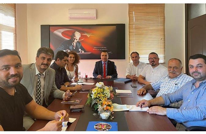 Antalya Gazeteciler Cemiyeti'nde görev dağılımı yapıldı
