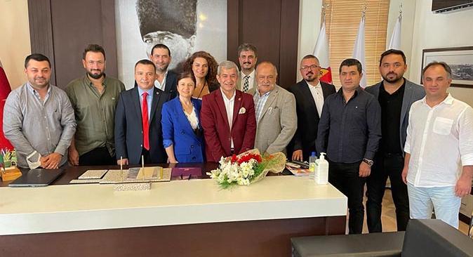AGC'de devir teslim töreni! Başkan Yeni görevi İdris Taş'a devretti