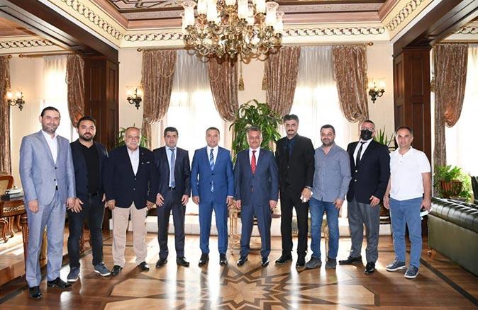AGC yönetiminden Vali Ersin Yazıcı'ya ziyaret