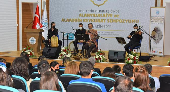 İrfan Gürdal ALKÜ'de konser verdi