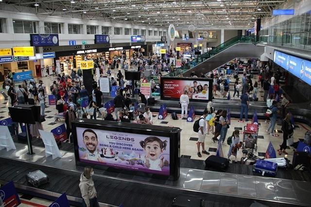 Antalya'ya havayolu ile gelen turist sayısı 7 milyonu geçti