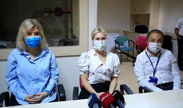 Rektör Özkan: Vaka sayısı 3 haftaya göre ciddi oranda düştü