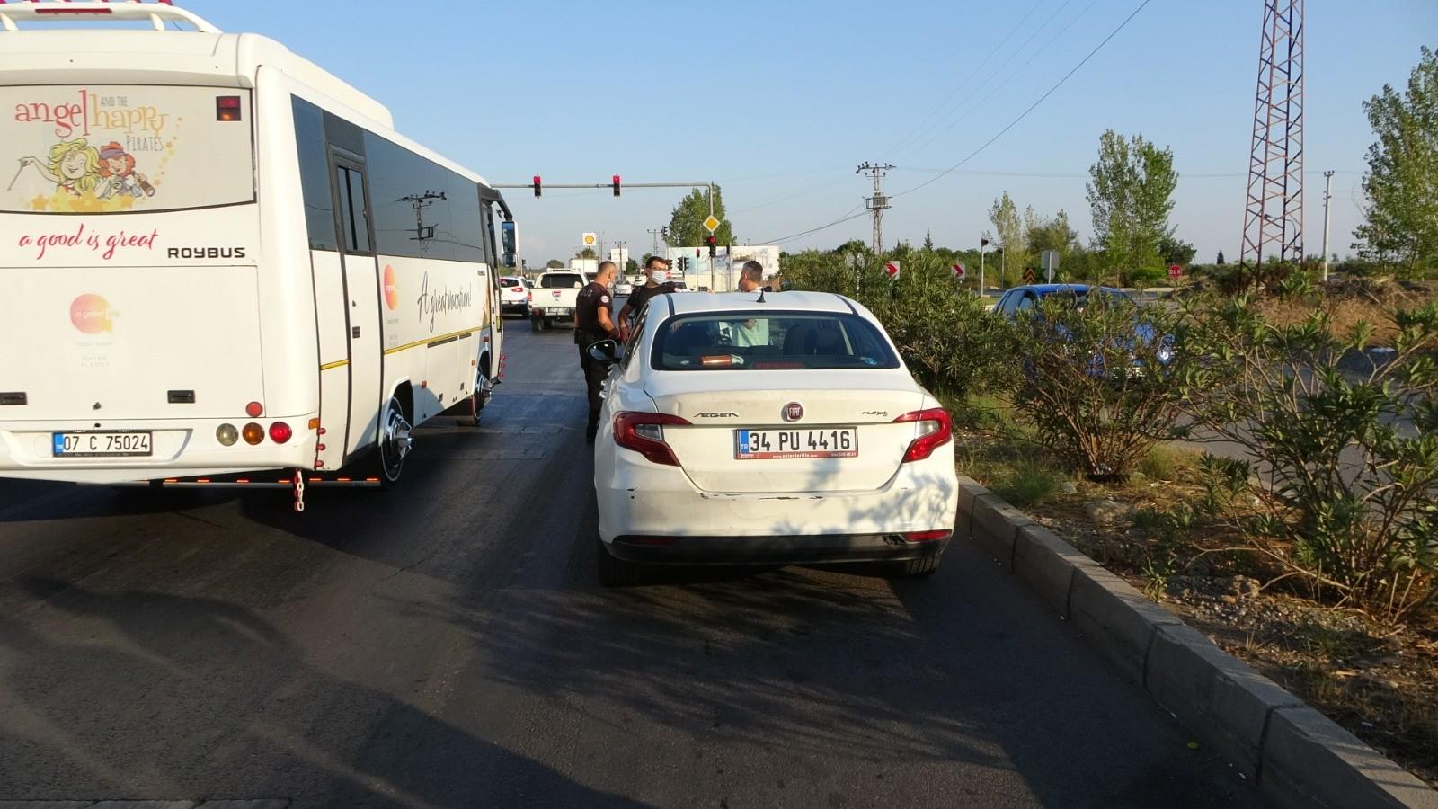 Antalya'da akılalmaz olay! Kiraladığı aracı çalıntı diye ihbar etti! Araçla birlikte yakalandı...