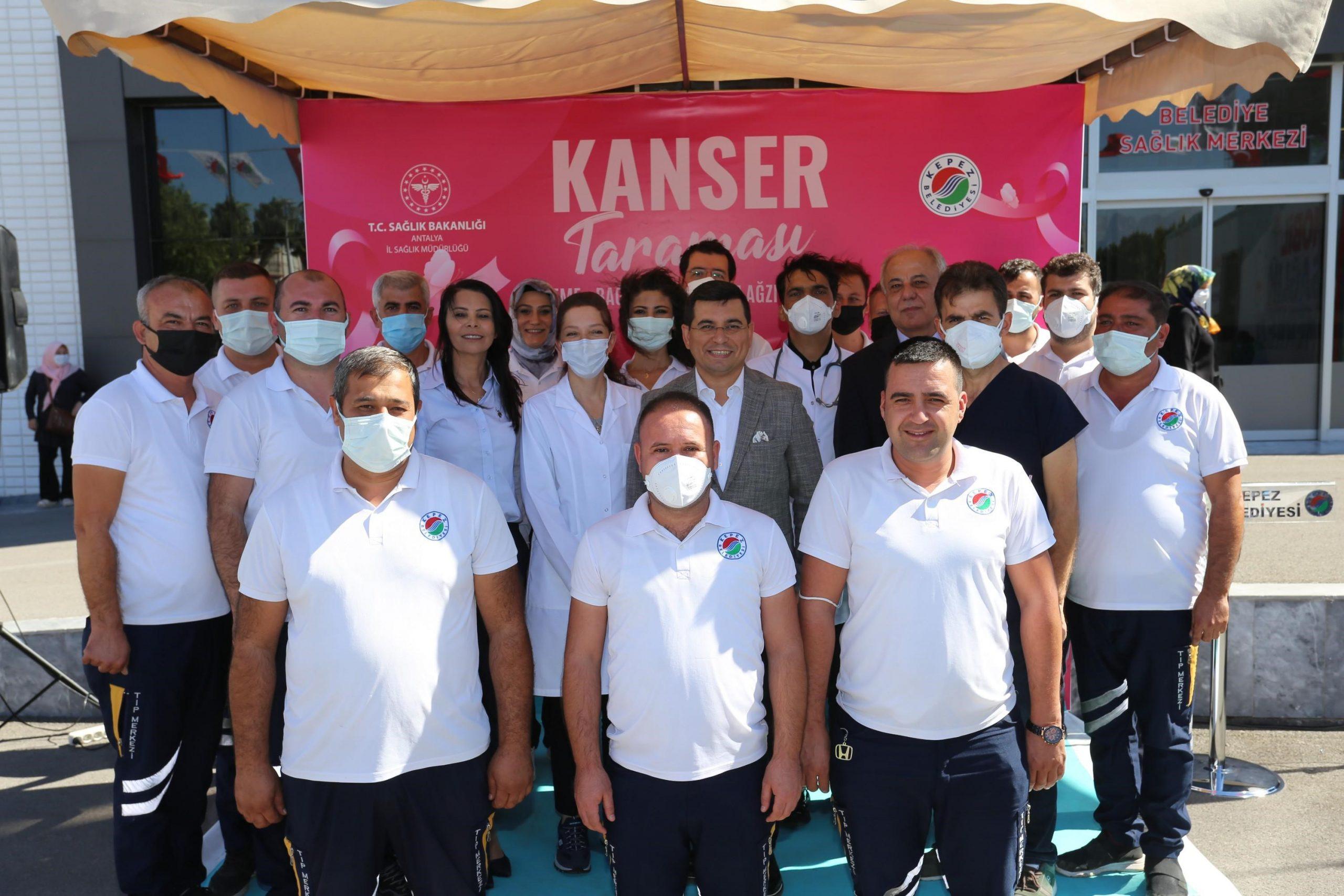 Kepez'de kanser taramaları başladı! 181 kadına erken tanı konuldu