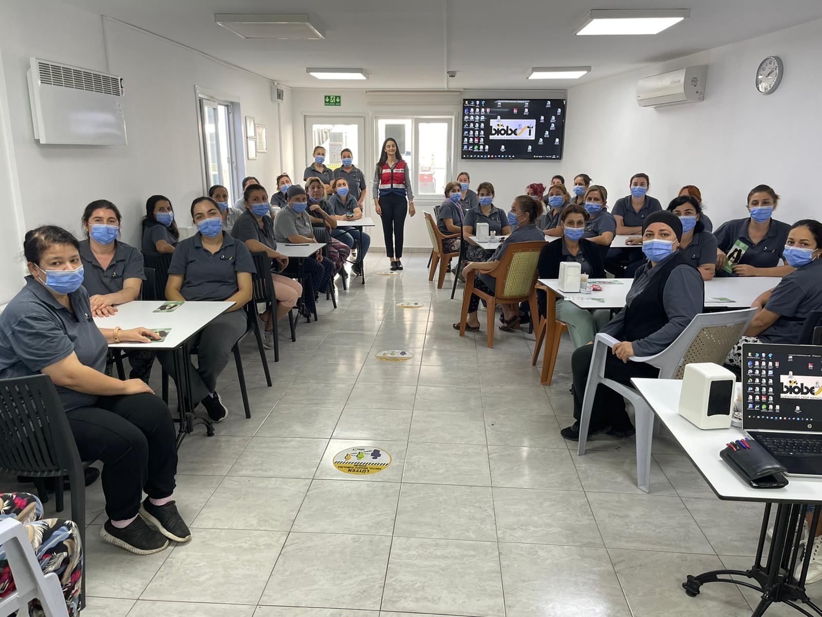 Antalya'da 30 kadına narkotik eğitimi