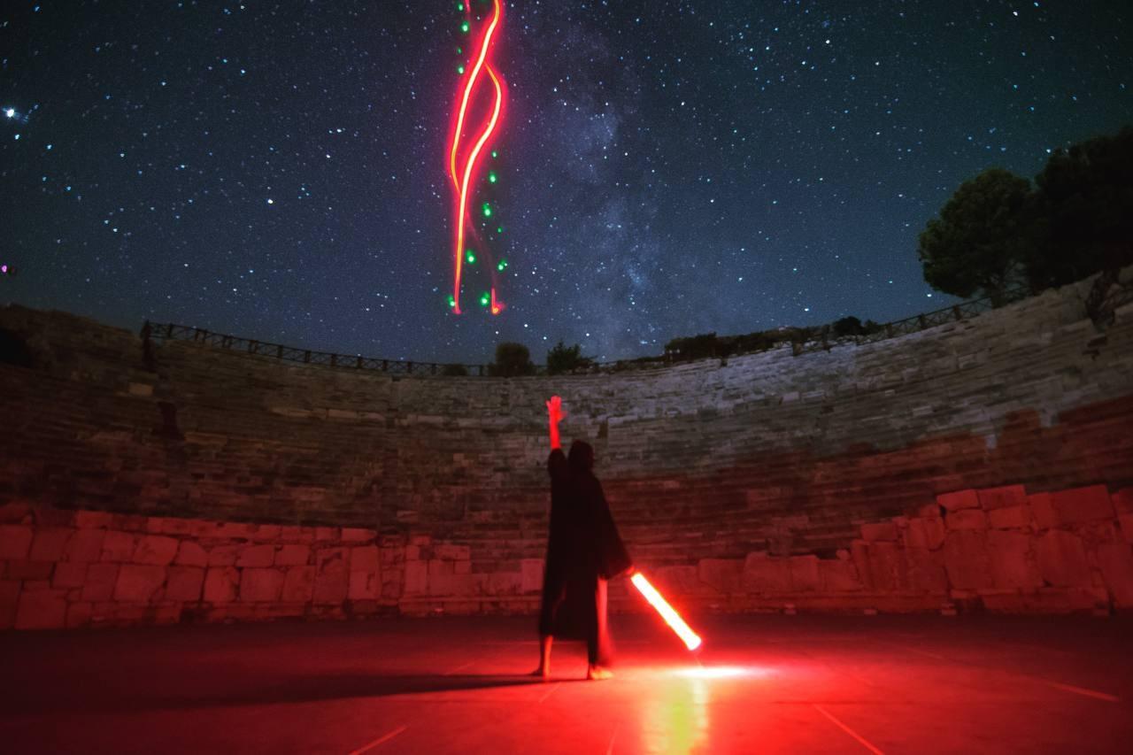 Patara Antik Kenti'nde 'Yıldız Savaşları' rüzgarı