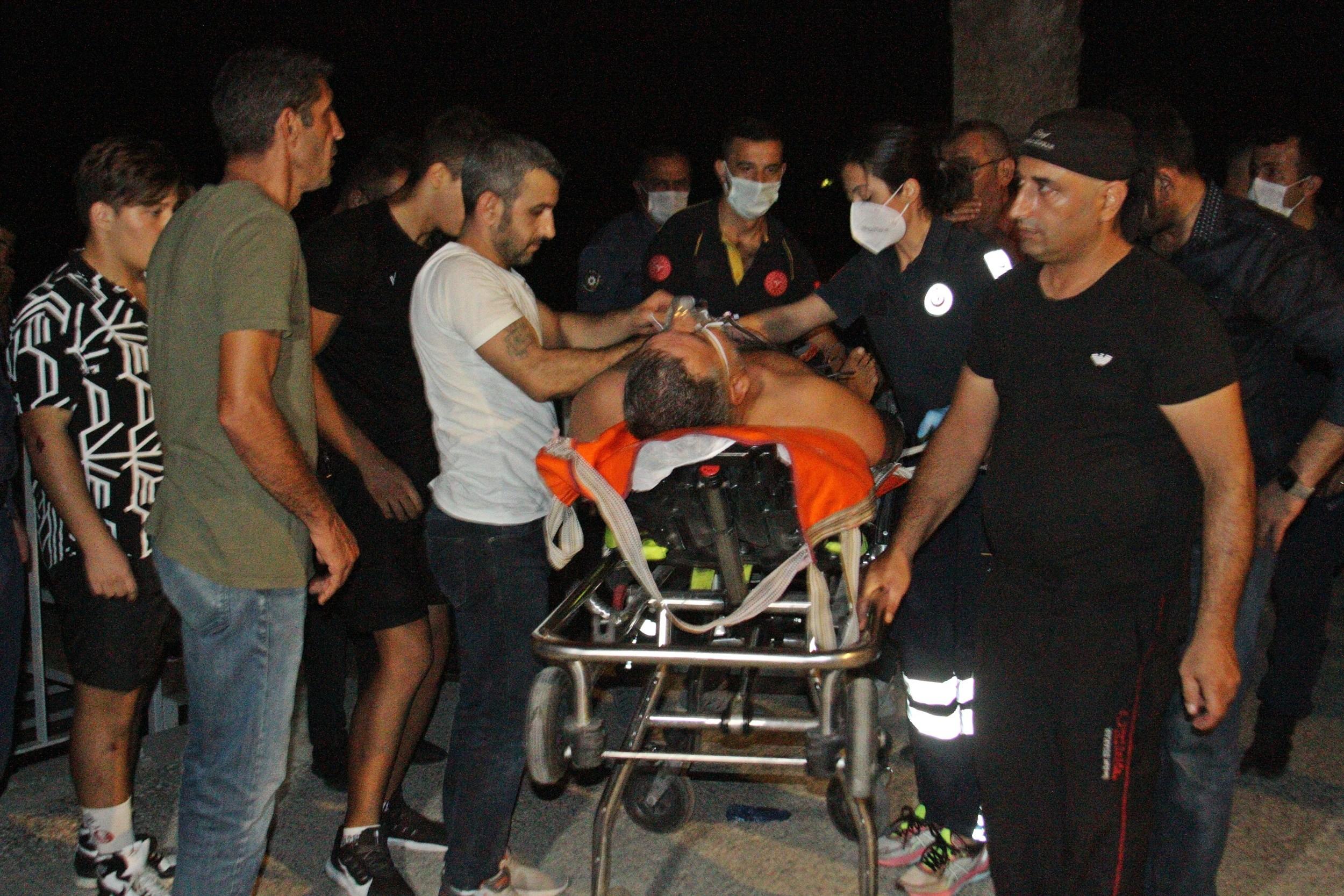 Antalya'da boğulma tehlikesi yaşandı! 50 yaşındaki adam son anda kurtarıldı