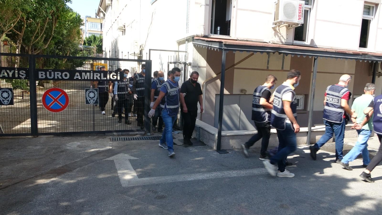 Çeşitli suçlardan aranan 18 kişi Manavgat'ta yakalandı
