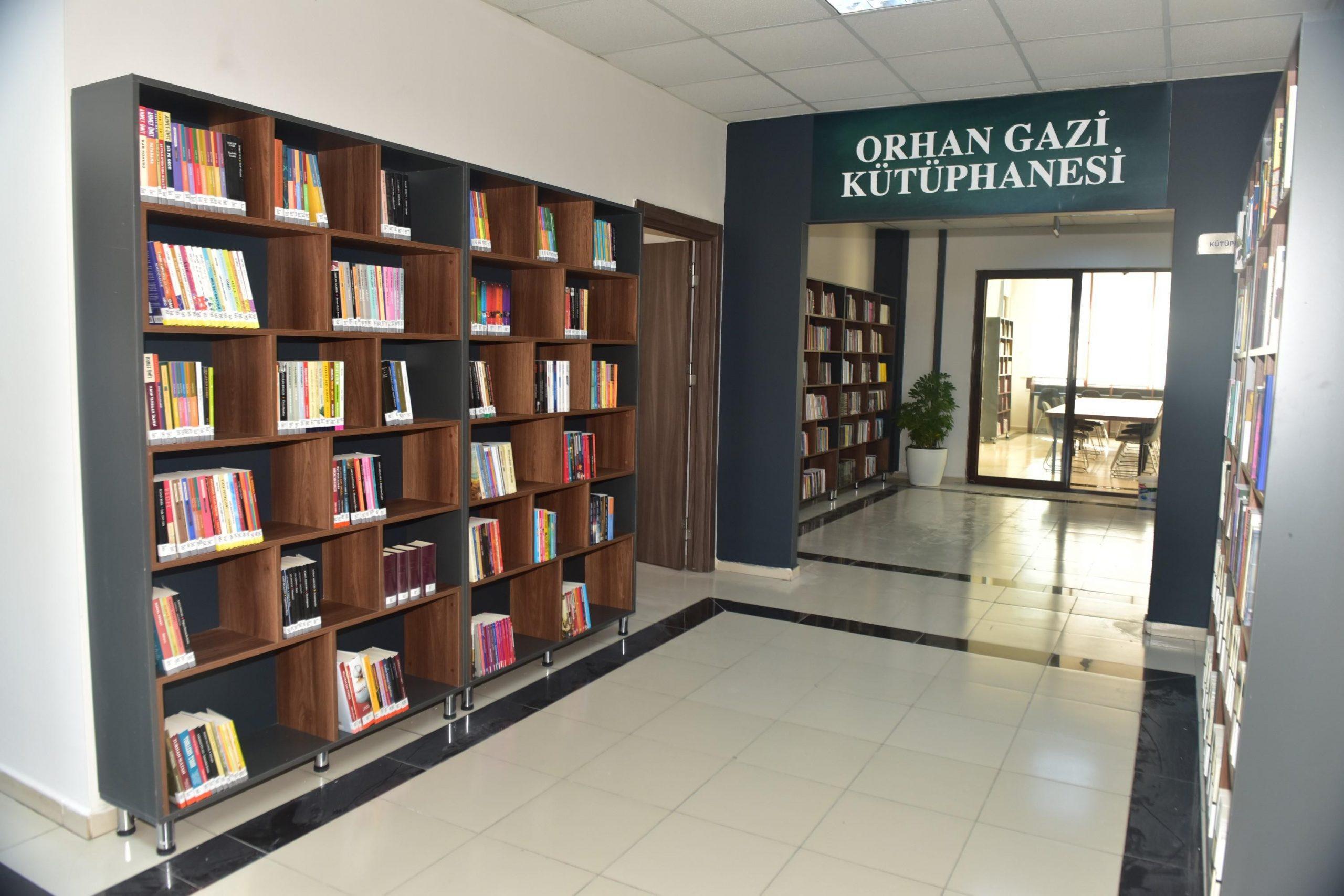 Kepez'e 8'inci kütüphane