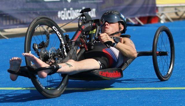 Paratriathlon Dünya Kupası Yarışları Alanya'da gerçekleşti
