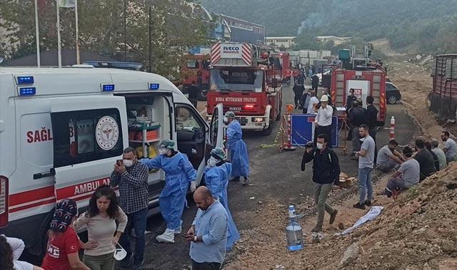 Bursa'daki fabrikada patlama: Ölü ve yaralılar var