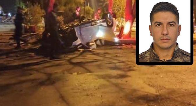 Özel harekat polisi Bedrettin Tok trafik kazasında hayatını kaybetti