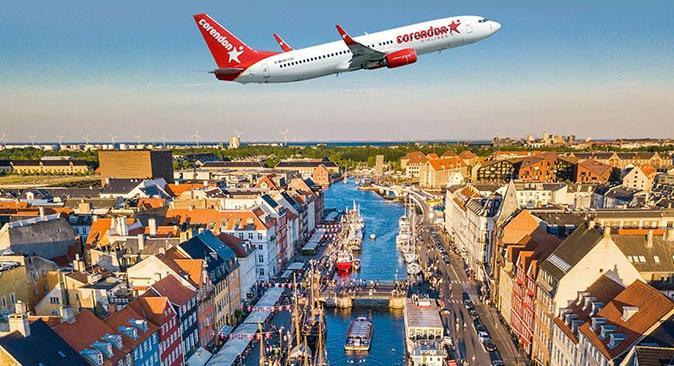Corendon Airlınes Danimarka pazarında