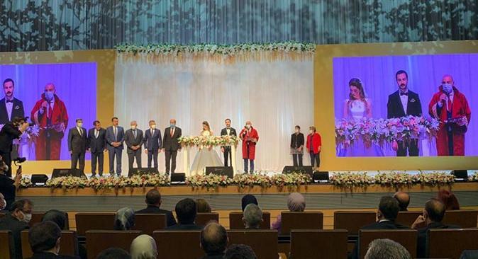Bakan Çavuşoğlu'nun mutlu günü! Eylül İrem Çavuşoğlu, Sefa Koyuncu ile evlendi
