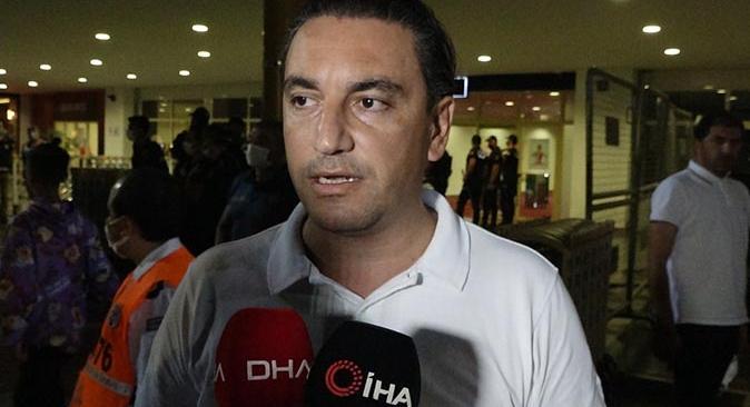 FT Antalyaspor Asbaşkanı Berkay Bahar'dan hakeme sert tepki