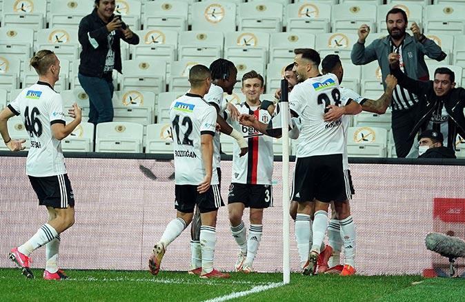 Beşiktaş Sivasspor'u Güven'in golleriyle mağlup etti