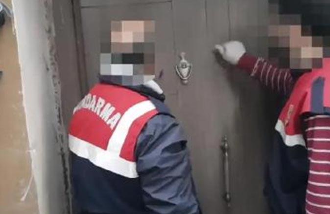 Antalya'da ihbar üzerine eve baskın düzenlendi