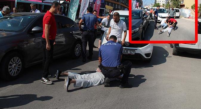 Antalya'da nefes kesen kovalamaca! 3 tırnakçı yakalandı