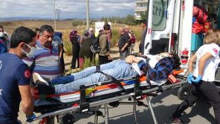 Antalya'da lise öğrencisi Mustafa Yılmaz'a otomobil çarptı