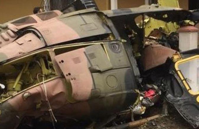 Tunus'ta askeri helikopterin düşmesi sonucu 3 asker hayatını kaybetti