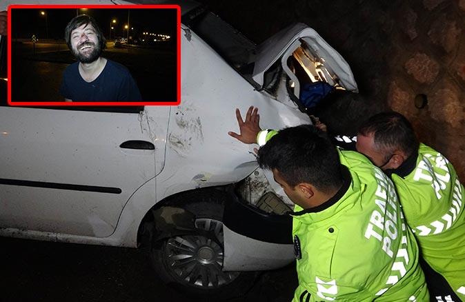 Ünlü oyuncu Sadi Celil Cengiz trafik kazasında yaralandı