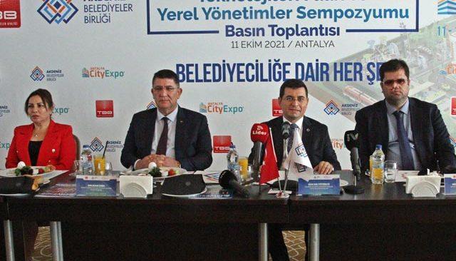 9. Antalya Şehircilik ve Teknolojileri Fuarı ve Yerel Yönetimler Sempozyumu