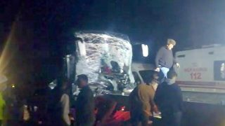 Alanya'ya gelen tur otobüsü kaza yaptı! Çok sayıda yaralı var...