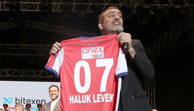 Haluk Levent Antalyaspor'a destek için sahneye çıkacak