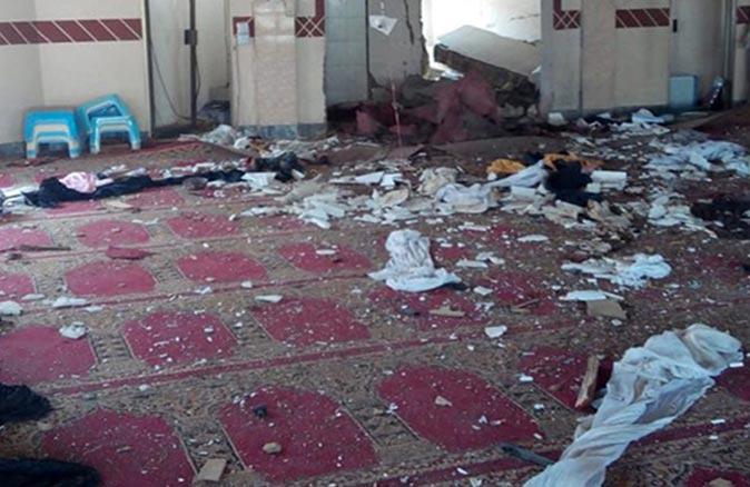 Son dakika.... Afganistan'da camiye bombalı saldırı düzenlendi