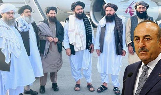 Taliban heyeti ile ne görüşüldü? Bakan Çavuşoğlu'ndan açıklama