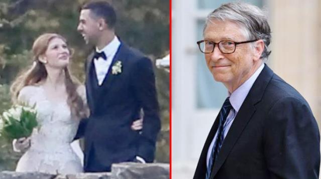 Bill Gates'in kızı evlendi! Önce imam nikahı sonra da resmi nikah kıydılar