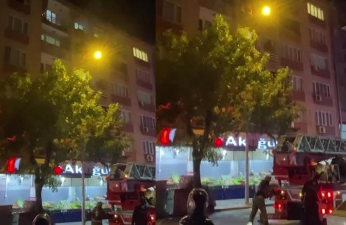 Bursa'da ev küle döndü