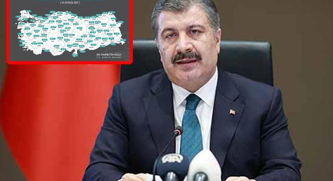 Antalya'daki vaka sayısı düştü