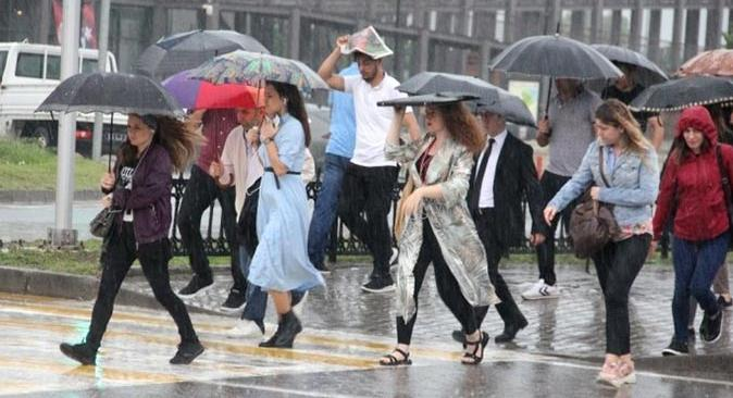 Meteoroloji'den uyarı! Çok sayıda ilde yağmur bekleniyor