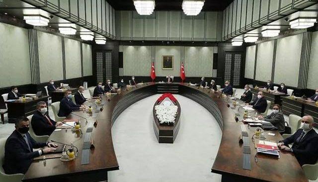 Son dakika: Kritik Kabine Kurulu Toplantısı sona erdi!