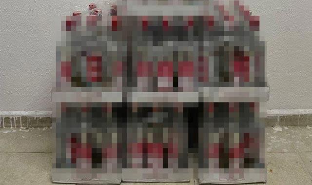 Kemer'de lüks otelde kaçak içki operasyonu
