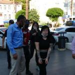 Antalya'da kafasına taşla vurup gasp ettiler