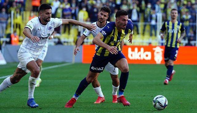 Kanarya liderliği perçinledi! Fenerbahçe, sahasında Kasımpaşa'yı 2-1 yendi