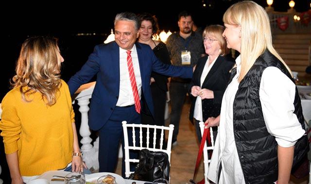 21 ülke 36 şehir festival için yemekte buluştu